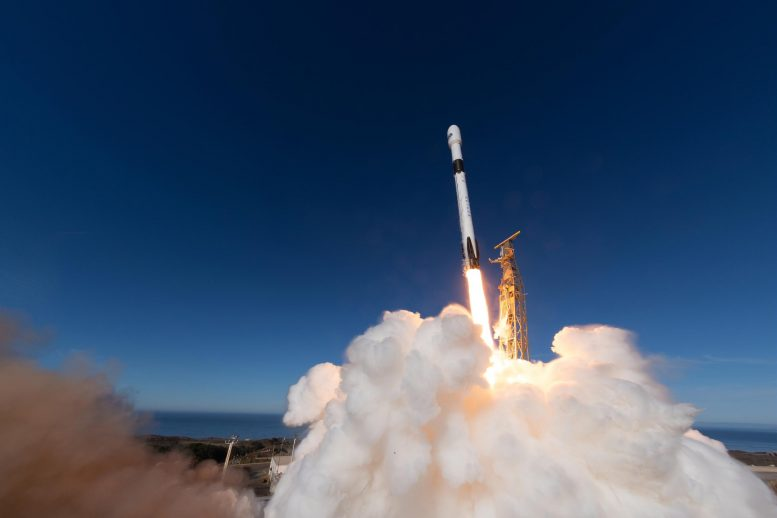 Copernicus Sentinel-6 Michael Freilich Satellite Lifts Off
