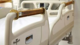 Copper Hospital Bed Rails