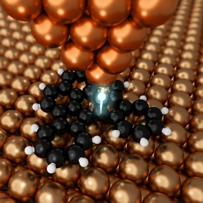 Copper Probe Atomic Scale Manipulation