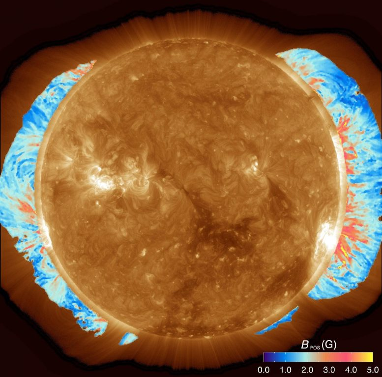 Coronal Magnetic Field Strength Map
