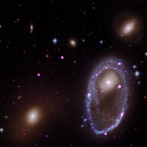 Cosmic Collision Forges Galactic One Ring