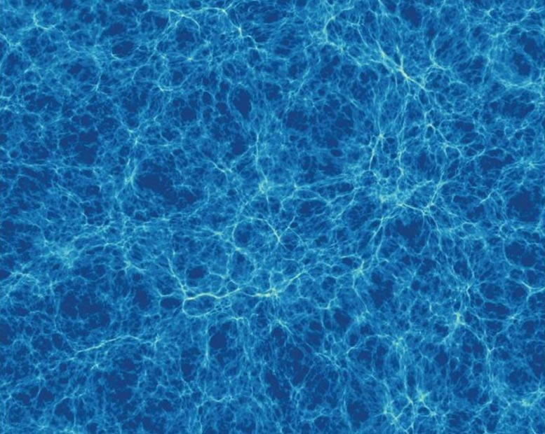 Cosmic Filaments Simulation