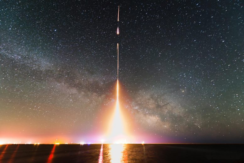 Cosmic Infrared Background Experiment Rocket Launch