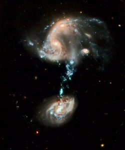 Cosmic Optical Illusions in Ursa Major from Hubble Space Telescope