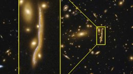 Cosmic Snake Reveals the Structure of Distant Galaxies