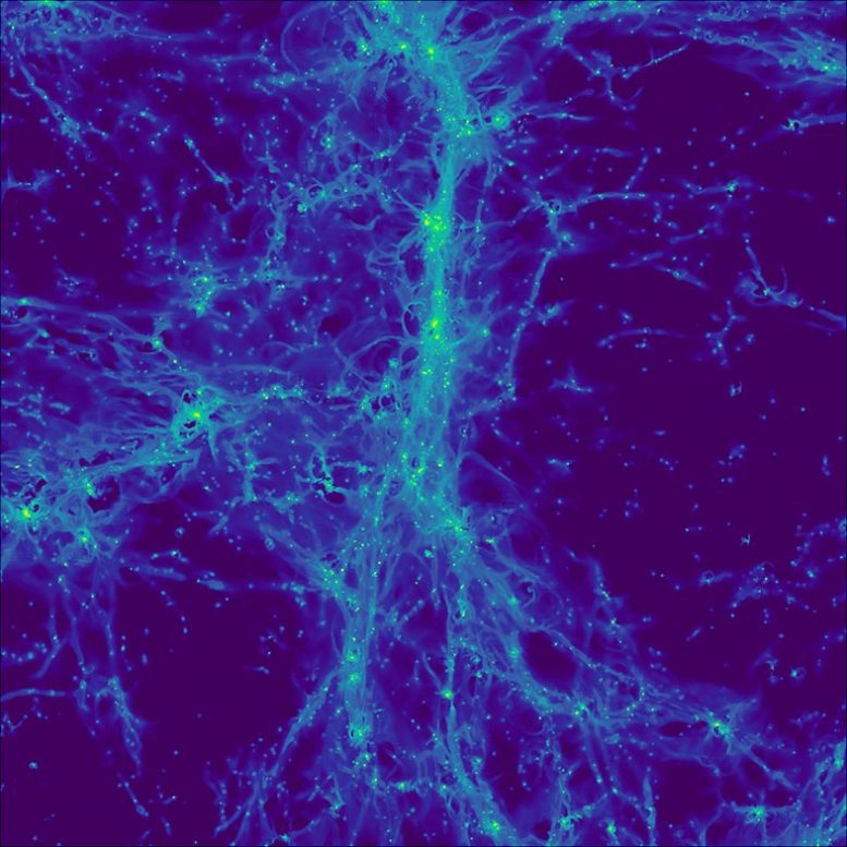 Cosmological Simulation of Distant Universe