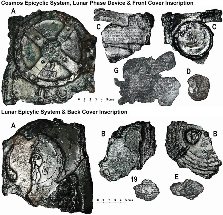 Cosmos Fragments With Evidence