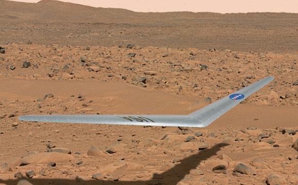 Could This Be the First Mars Airplane