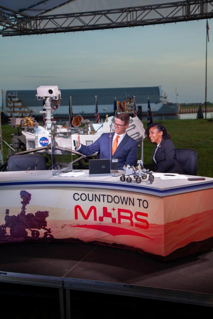 Countdown to Mars