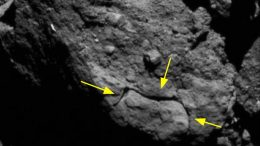 Cracked Rocks Asteroid Bennu