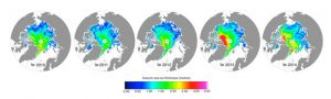 CryoSat Shows Volume of Arctic Sea Ice Has Increased