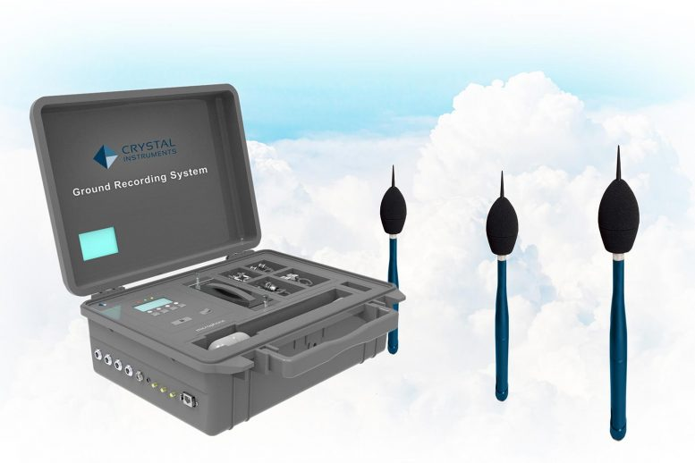 Crystal Instruments Ground Recording System