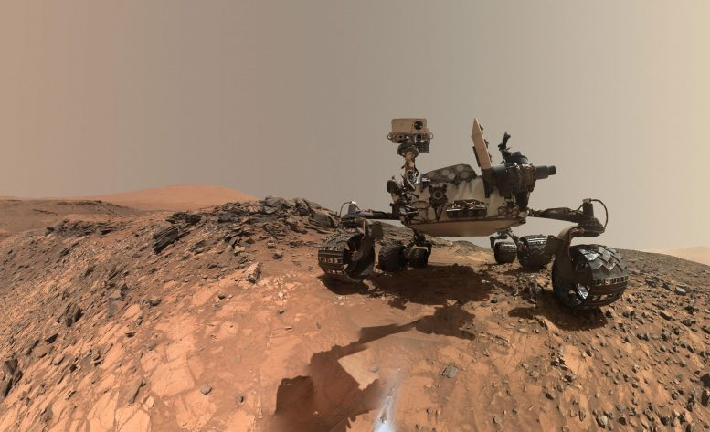 Curiosity Finds Ancient Organic Material