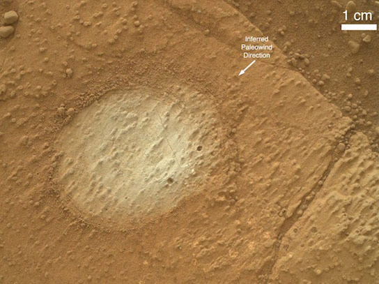 Study Shows Ancient Fresh Water Lake on Mars Could Have Sustained Life