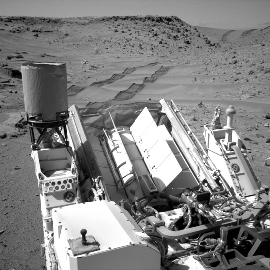 Curiosity Image of Dingo Gap