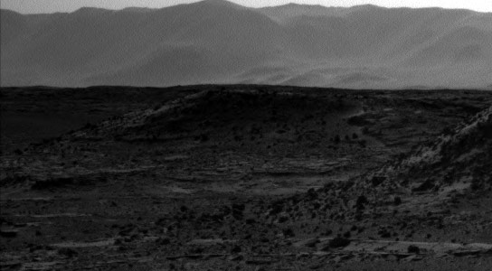 Curiosity Rover Discovers Bright Spot on Mars