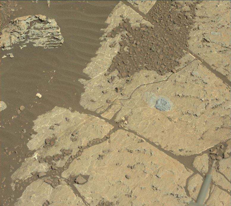 Curiosity Rover Tests New Way to Drill on Mars