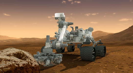 Curiosity Technology Adapted to Detect Gas Leaks