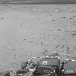 Curiosity Uses Autonomous Navigation for the First Time