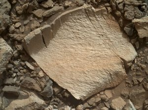 Curiosity Views Lamoose Rock on Mars