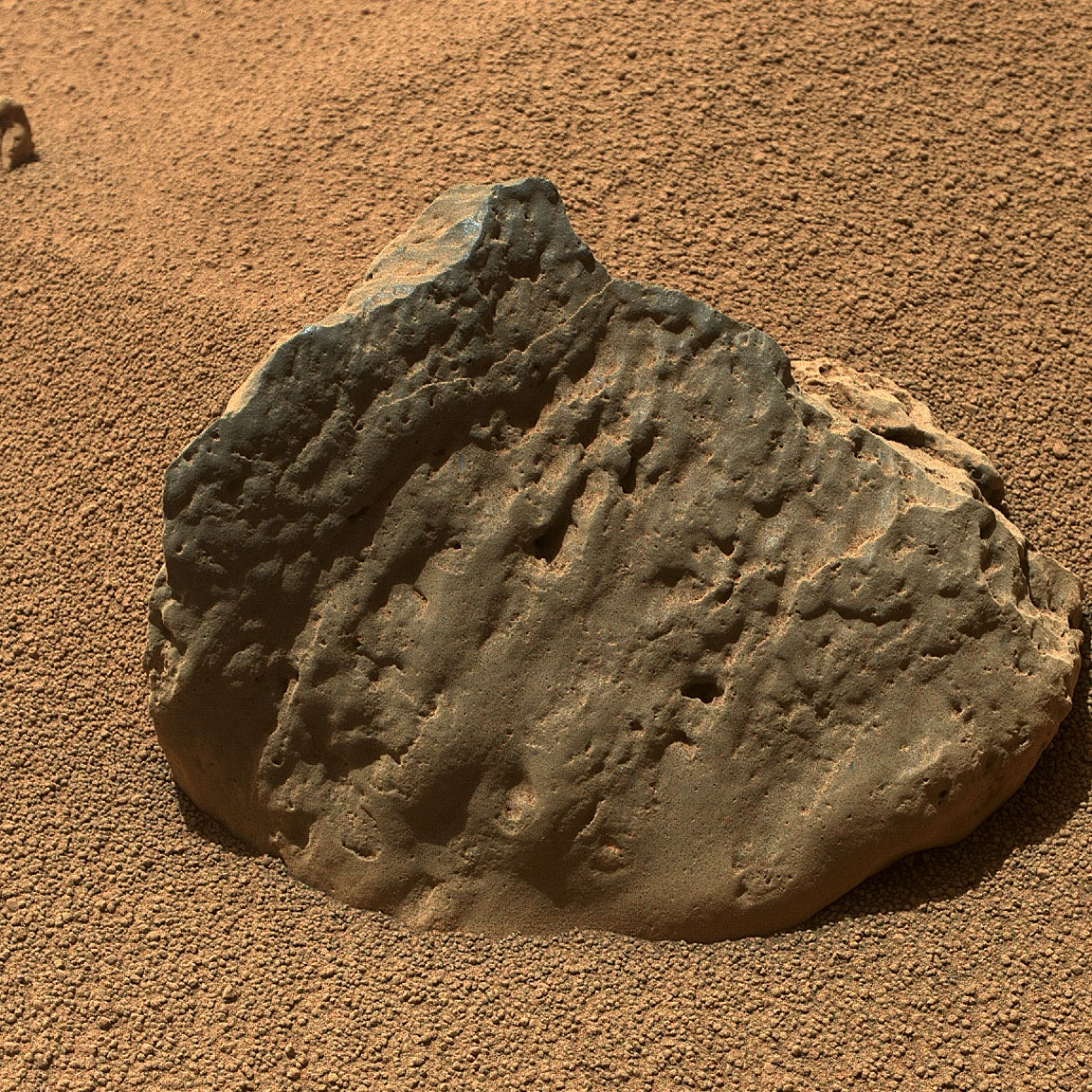 rock on mars by rover - photo #22