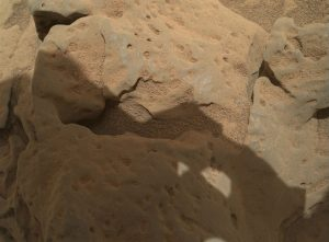 Curiosity image of a rock called Burwash