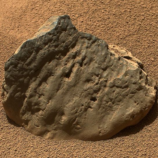 Curiosity image of a rock called Et-Then