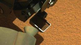 Curiosity's First Scoop of Mars