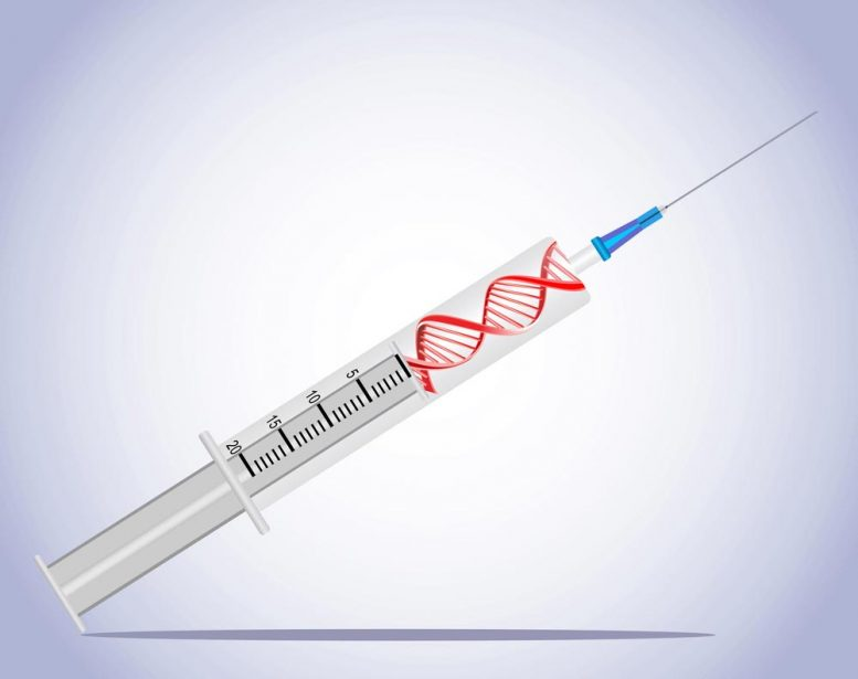 DNA Injection Illustration