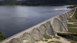 Daniel-Johnson Dam in Quebec