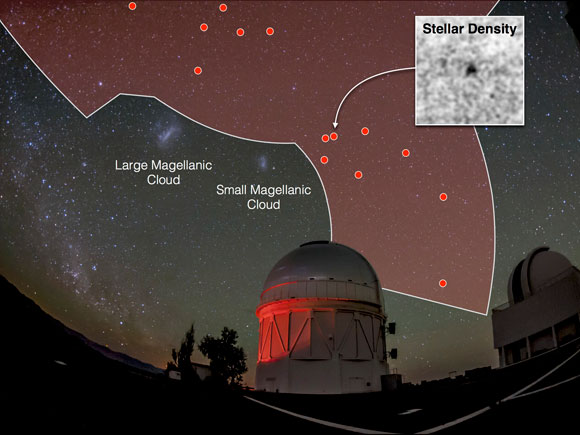 Dark Energy Survey Discovers New Dwarf Galaxy Candidates