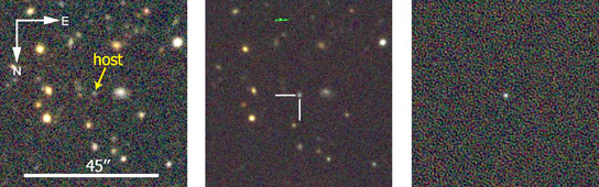Dark Energy Survey Reveals Distant Supernova