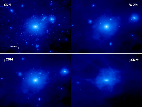 Dark Matter Could Help Explain Missing Satellite Galaxies