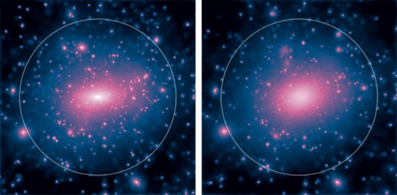 Dark Matter in Two Galaxies