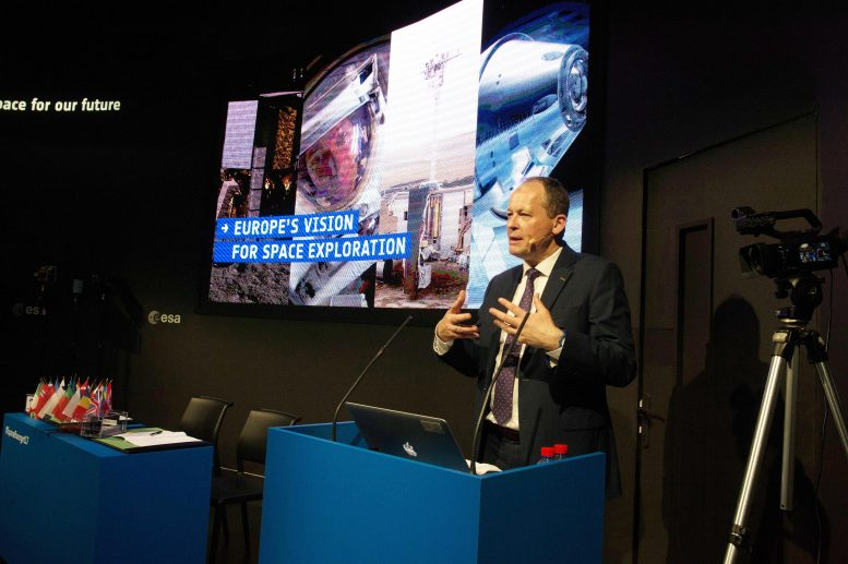 David Parker Europe's New Vision for Space Exploration