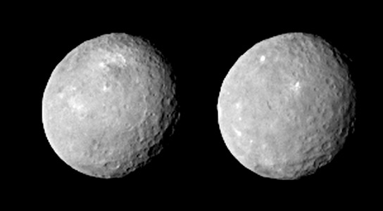 Dawn Captures Sharper Image of Ceres