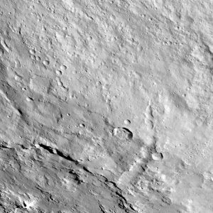 Dawn Image of Pongal Catena on Ceres