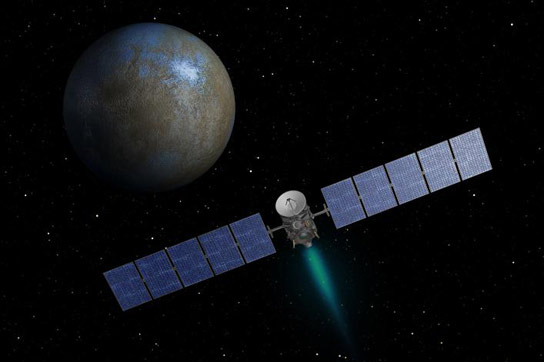 Dawn Spacecraft Begins Approach to Ceres