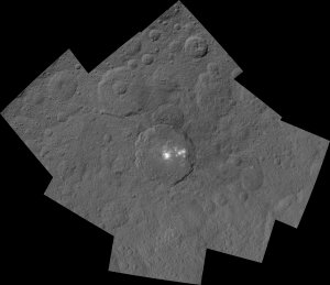 Dawn Views Ceres' Occator Crater