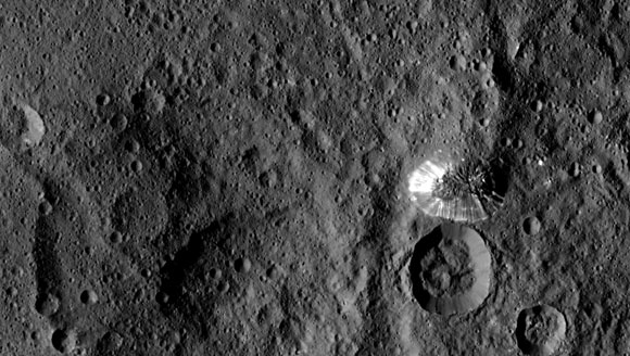 Dawn Zooms in on Ceres