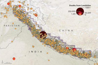 Deaths From Landslides in High Mountain Asia