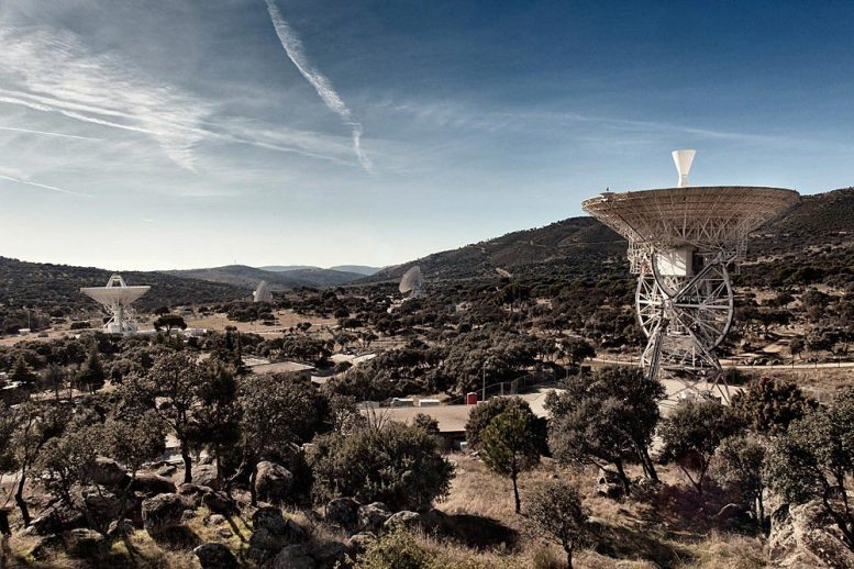 Deep Space Network Madrid Ground Station