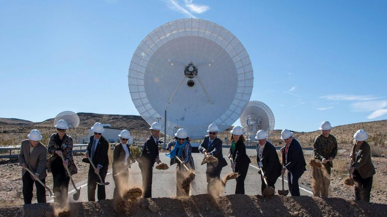 Deep Space Network New Antenna Ground Breaking