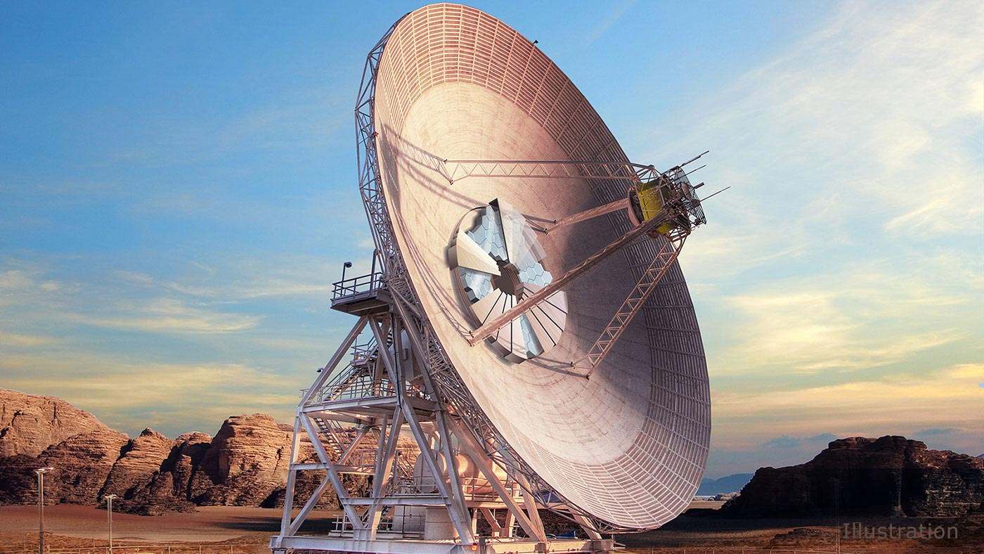 NASA's New Deep Space Network Dish Will Communicate With Robotic Spacecraft Using Radio Waves and Lasers - SciTechDaily