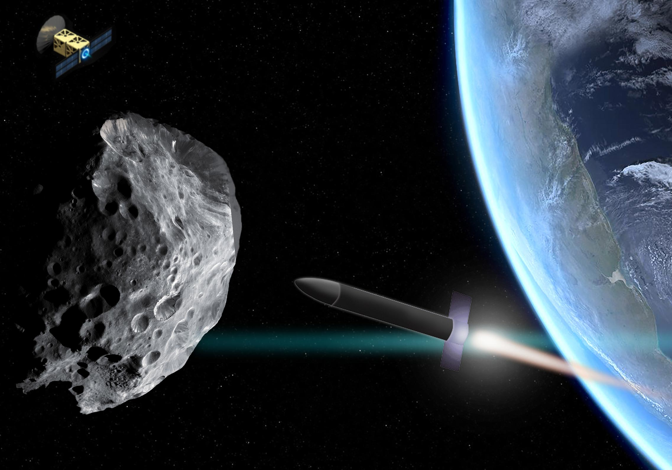 MIT Engineers Devise the Best Way to Deflect an Incoming Planet-Killer Asteroid - SciTechDaily