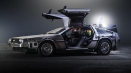 Delorean Time Travel