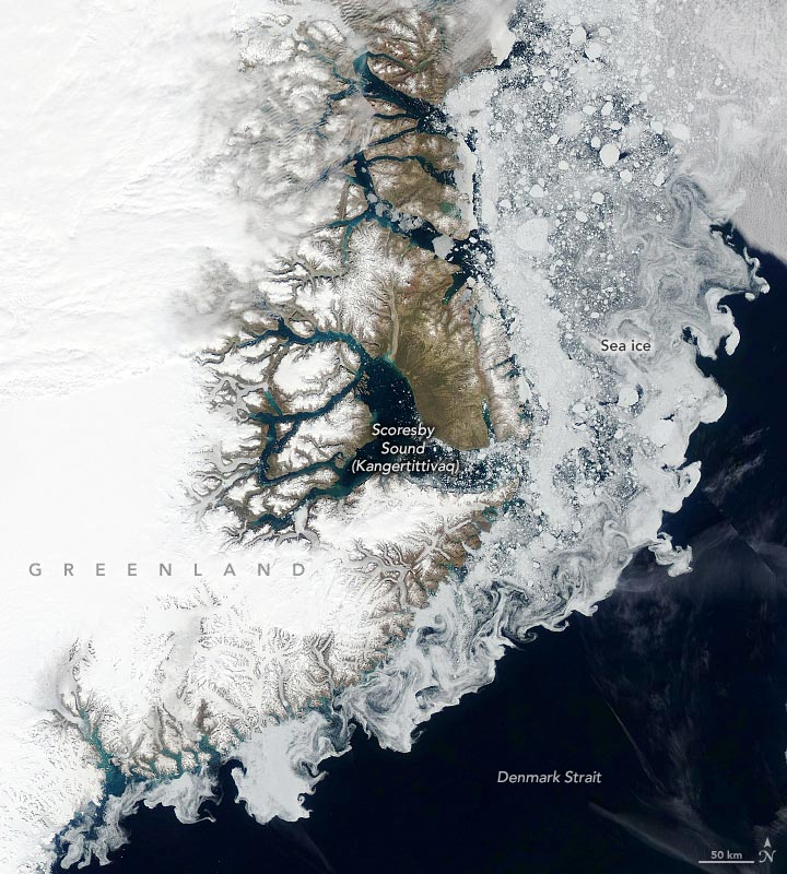 Denmark Strait Sea Ice July 2 2020 Annotated