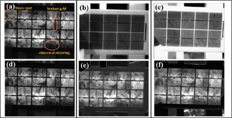 Detecting Defects in Silicon Solar Panels