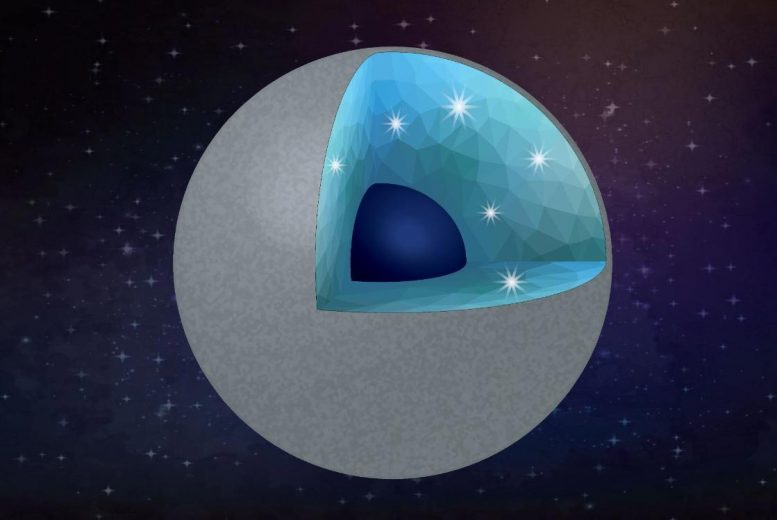 Diamond Planet Rendition