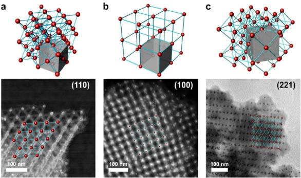 Different Types of Nanoscale Lattices Formed With Polyhedra DNA Nano-Frames